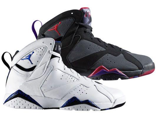 Air Jordan 7 (VII) - Bulls vs Magic 60+ Pack - Black / Charcoal - Team Red   Jordan Vii, Air Jordans and Jordans