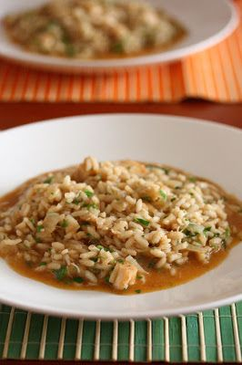 La Cucinetta: UMA SEXTA FEIRA FRUGAL 10: caldo de peixe e risotto de robalo