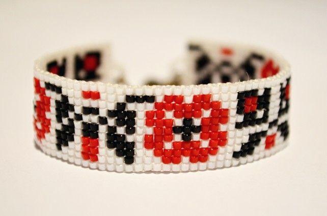 etno beaded bracelet