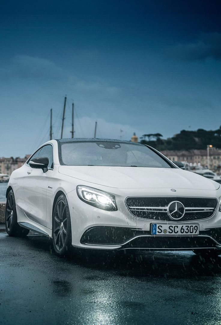 Mercedes S-class coupe. I'm not a big fan of Mercedes but this one isn't half bad.