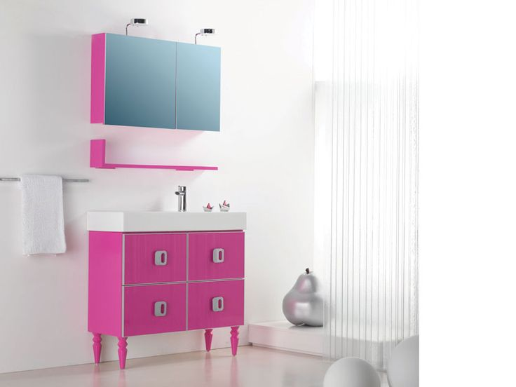 """PLAY"" BATHROOM FURNITURE,home,new,interior design,accesories,set,new,style,bath,tiles,product,idea,decoration,woman,mirror,porcelain,επιπλο μπανιου,μπανιο,νιπτηρας,καθρεπτης,πλακακια,idea,spa,architecture,decoration,pink,white"