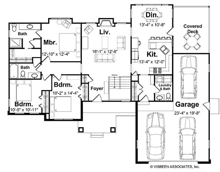 5 Bedroom House Plans | Print this floor plan Print all floor plans