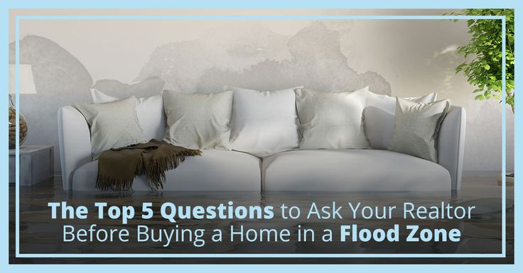 Considering buying a home in a flood zone? Before you do, be sure to ask your realtor these questions prior to closing and make sure you're protected.