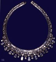 Made by Harry Winston, it was purchased by King Faisal and given to Elizabeth II on a state visit in 1967