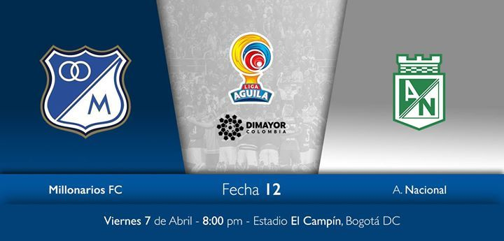 Millonarios vs Nacional | Viernes 7 de Abril | 8:00pm | Estadio El Campín, Bogotá | Boletería disponible en http://vive.tuboleta.com/shows/show.aspx?sh=MILLONAL17 #fashion #style #stylish #love #me #cute #photooftheday #nails #hair #beauty #beautiful #design #model #dress #shoes #heels #styles #outfit #purse #jewelry #shopping #glam #cheerfriends #bestfriends #cheer #friends #indianapolis #cheerleader #allstarcheer #cheercomp  #sale #shop #onlineshopping #dance #cheers #cheerislife…