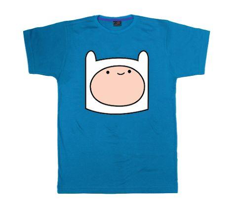 Camiseta Finn - Hora de Aventura em http://www.katanapresentes.com.br/5dcaa/camiseta-finn-hora-de-aventura
