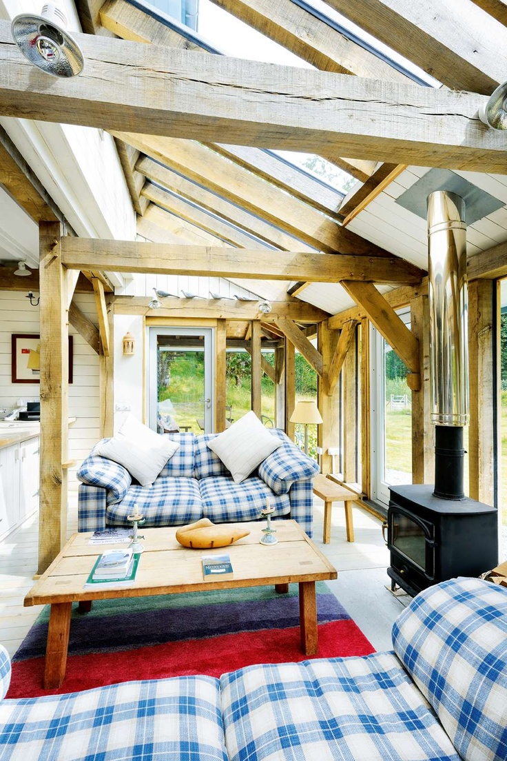 Wooden beams and checks