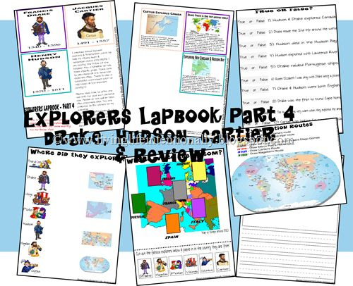 week 15 and 21- to use with Henry the Navigator and Canadian explorers.