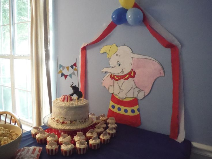 Dumbo circus party decorations