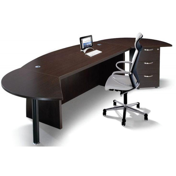 Office set executive QX1800 wenge 180x90+130x70+40x47