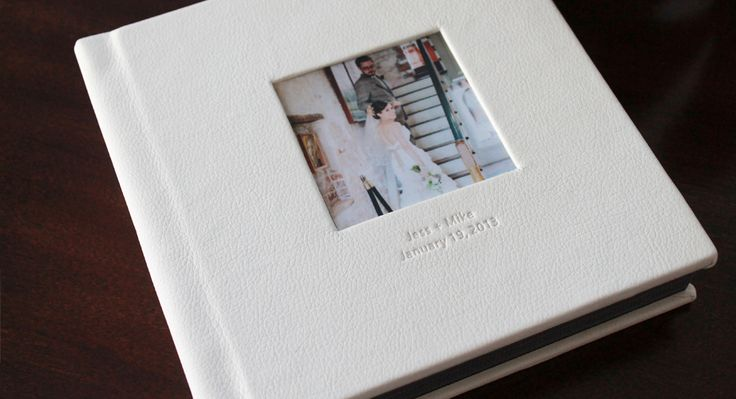Wedding album Leather cover6