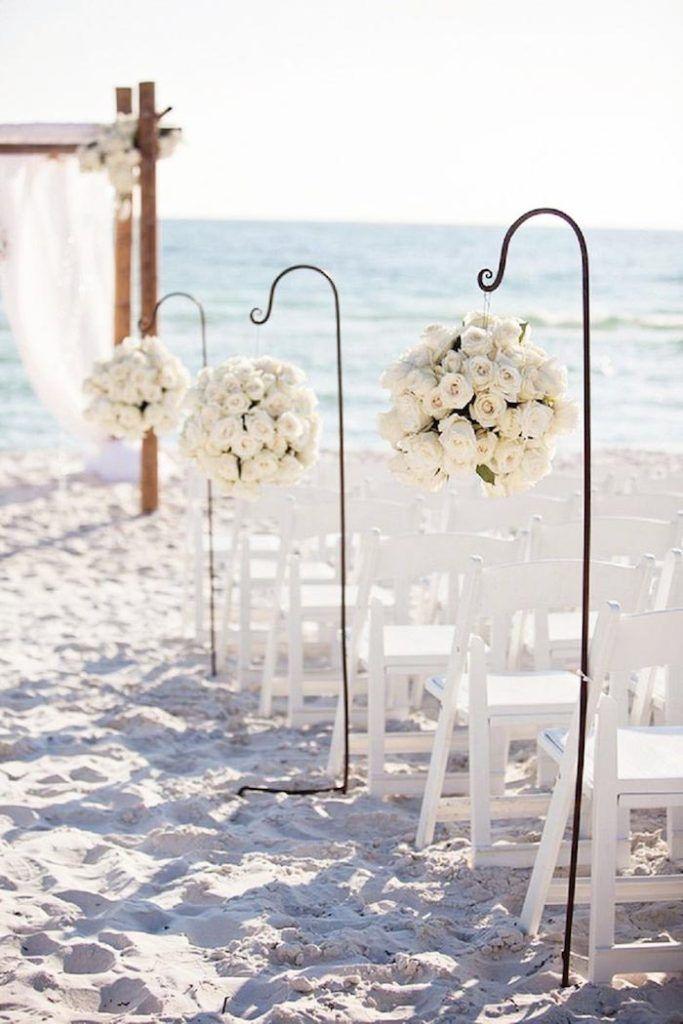 Ιδέες διακόσμησης γάμου σε χρώμα λευκό