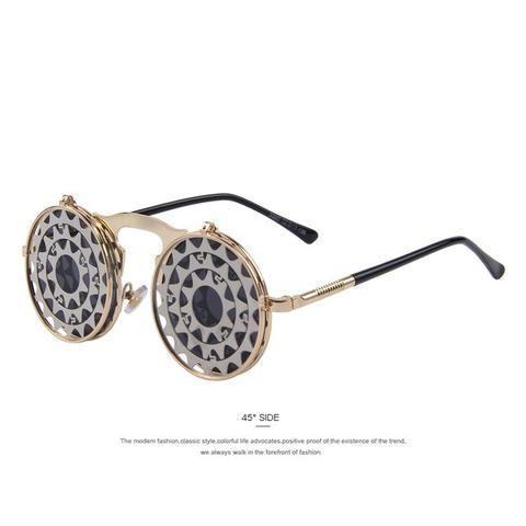 Steampunk Gothic Γυαλιά - 16 στυλ