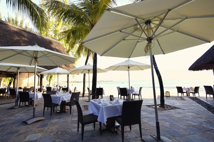 Paul et Virginie - restaurante a pocos metros del océano - Club Med La Pointe aux Canonniers, Isla Mauricio