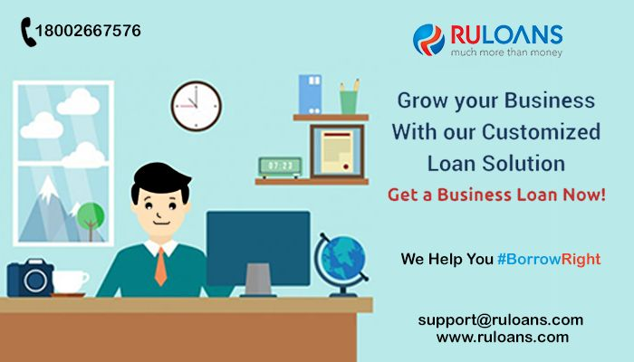Fulfill all your business dreams now! Get a #BusinessLoan - #Ruloans  For more details visit -  http://buff.ly/29aPyBa #BorrowRight