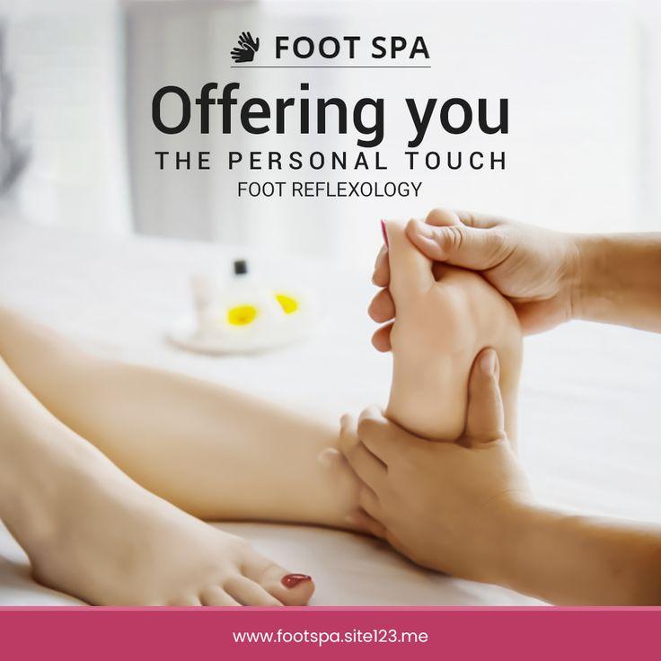 Foot Reflexology in 2020 | Reflexology Foot spa Foot ...