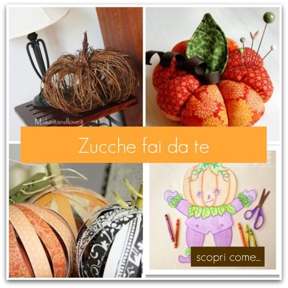 Idee per fare le zucche: Le Zucche, Fares Autunno, Con Diversi, Crear Zucch, Diversi Materiali, Creative Sewing, Decor Fai, Zucch Decor, Autumn Crafts