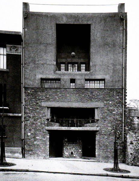 House for Tristan Tzara,Paris,1926,Adolf Loos (1870-1933)
