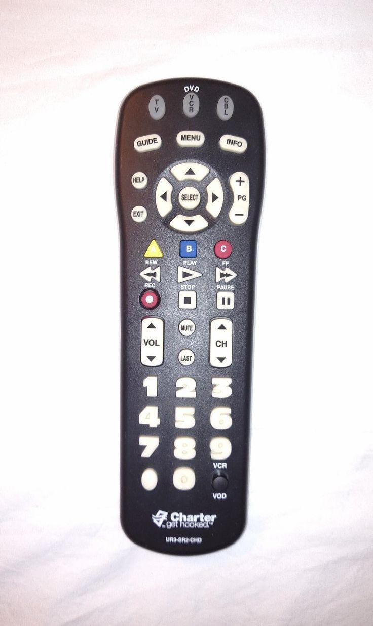 Details about charter universal remote control model ur3