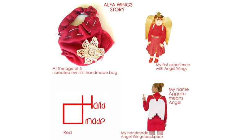 The Story behind Angel Wings backpack by AlfaHandmade®