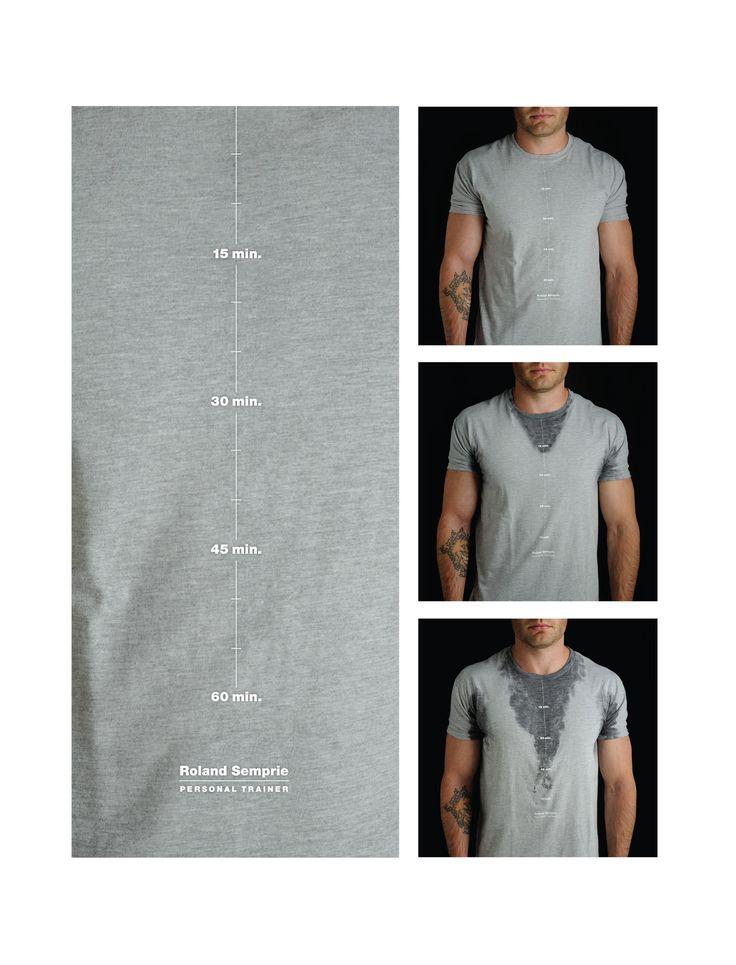 Clever Idea Self Promotion T Shirt For Roland Semprie
