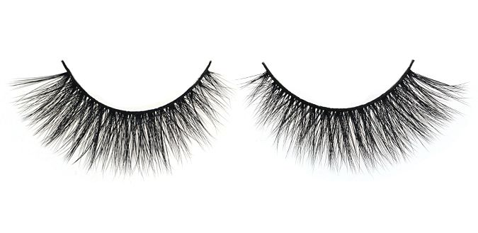 SUPERSTAR $30 FEMME FATALE 3D Angel Silk Strip Lashes Made of synthetic mellow fibres that mimic the texture of real mink fur. The thin and tapered fibres are placed in 2 layers on the soft lash band, giving the lash an emphasized fluffiness and feminine effect. Reusable up to 30 times 100% animal cruelty free Hand crafted Top quality
