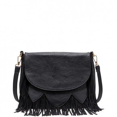 fringe crossbody satchel