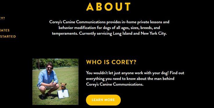Coreyscanine is Best puppy training service ,puppy trainer , Obedience Training , professional dog trainer ,dog behavior training , in new york city .