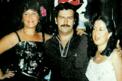Pablo Escobar and His Wife and Girlfriend.