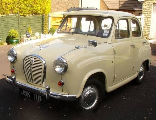 Austin A35 Four Door (1956) Maintenance/restoration of old/vintage vehicles: the material for new cogs/casters/gears/pads could be cast polyamide which I (Cast polyamide) can produce. My contact: tatjana.alic@windowslive.com
