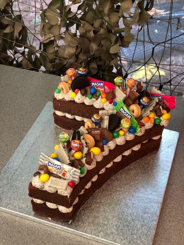 kit cake design completo Number cake - 1th birthday - #1th #birthday #Cake #number  Kuchen