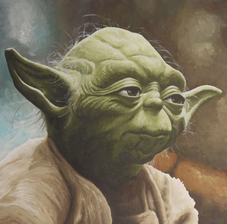 Yoda Smoking Weed Tattoo
