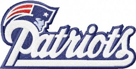 New England Patriots Logo Football Machine