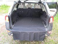 Чехол багажника Maxi для автомобилей Volvo XC70 II (2007-),цвет чёрный TP-V4XC70-MAXI-BL