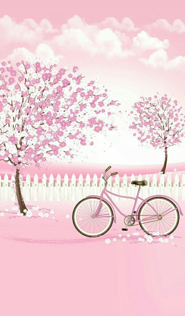 Pin By Love Kpop On خلفيات كيوت Cute Girl Wallpaper Cute Wallpaper For Phone Pink And White Background