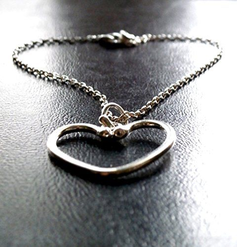 Silver Heart necklace, Silver Chain, Gift for Her, Handmade Swing Necklace, Love Necklace, Birthday Necklace, Valentines Gift for Her Konstantis Jewelry http://www.amazon.com/dp/B01C8OLOSM/ref=cm_sw_r_pi_dp_91d0wb09HY6M6