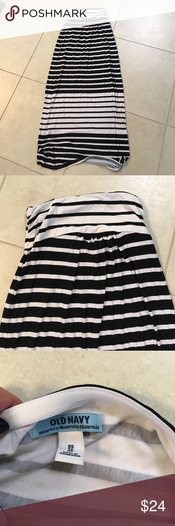 Beautiful striped maternity maxi dress 🤰🏼 Worn once! Comfy and versatile.  🤰🏼Check out my other maternity listings and bundle for discounts 🤰🏼 (old navy brand listed under motherhood to reach more mamas!) Motherhood Maternity Dresses Maxi