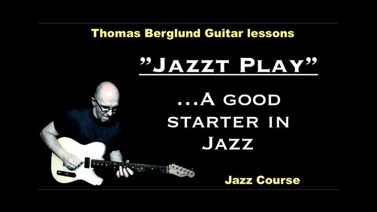 Hi! Jazzt play is a good starter for you if you´re interested in playing jazz. It´s a song in one key and I´ll show the song and discuss the scales and chords in the guitar lesson.   https://youtu.be/X7fagH9Y67c?list=PLv8sff7MRKt_ZTCUTvArXb4LeEU0_1mFE  The guitar lesson on my website! http://www.thomasberglundguitarlessons.com/courses/various-genres-courses/jazzt-play.html  ..and the tabs/notes! http://www.thomasberglundguitarlessons.com/tabsnotes/ewExternalFiles/Jazzt%20Play.pdf  Feel free…