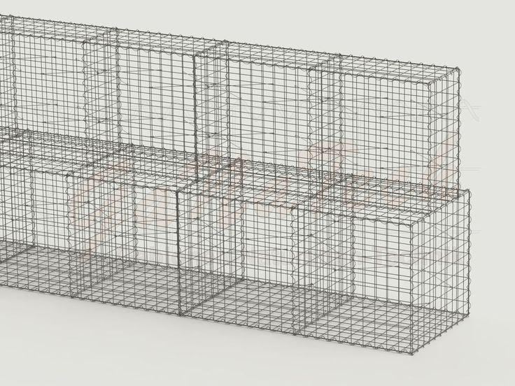 die besten 25 gabionenwand ideen auf pinterest gabionenwandgestaltung zaun sichtschutz und. Black Bedroom Furniture Sets. Home Design Ideas