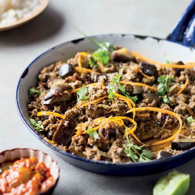 Taste Mag | Brinjal-and-beef mince curry @ http://taste.co.za/recipes/brinjal-and-beef-mince-curry/