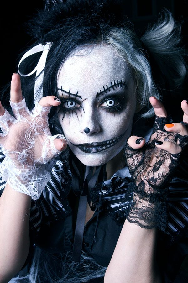 91 best Make-up Halloween images on Pinterest | Costumes ...
