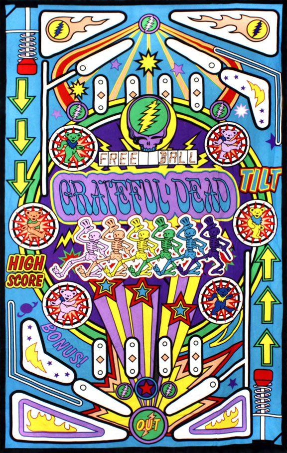 Hippie Tapestries Grateful Dead Indian Pin Ball Machine Iphone