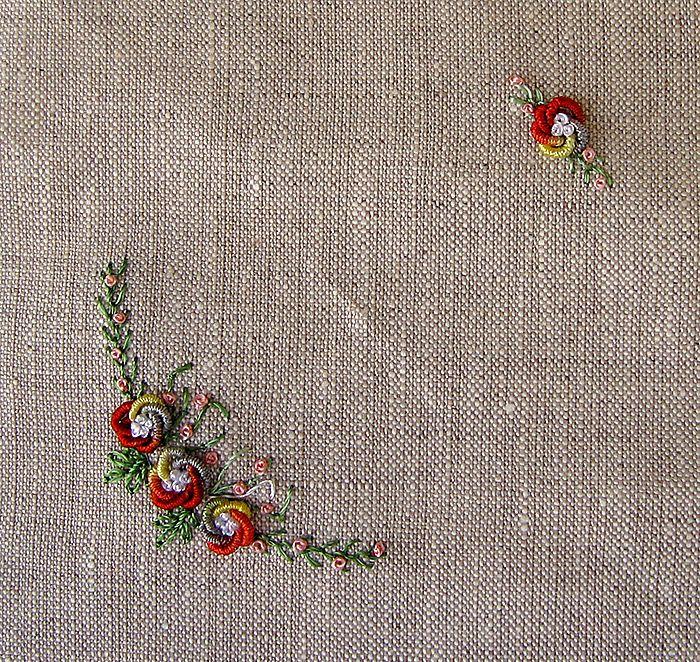 Como fazer essas flores em PONTO ROCOCÓ. https://youtu.be/iWv6xqHXmMY
