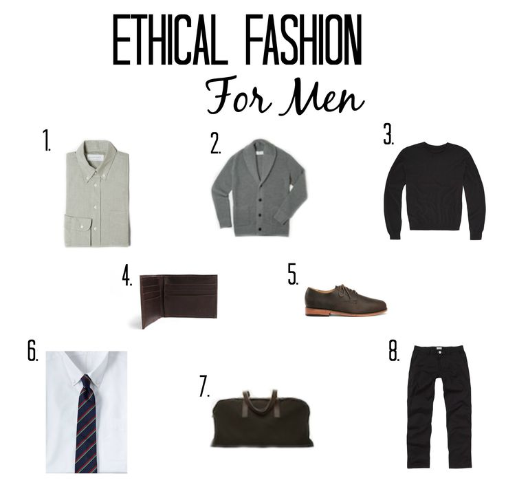ethical fashion for men