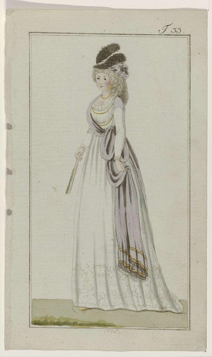 Journal des Luxus und der Moden, 1795, T 33, Georg Melchior Kraus, 1795