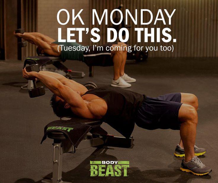 BODY BEAST MONDAY  Body Beast Motivation #WhateverItTakes #Sagi #BodyBeast…