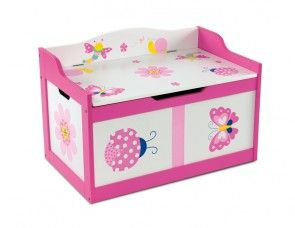 Kindersitzbank Schmetterling als Spielzeugtruhe_geschlossen
