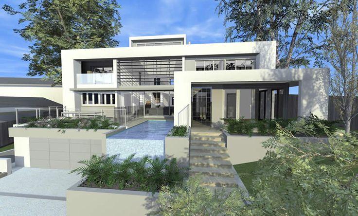 Atrium House Killara - 3D Design Concept by All Australian Architecture