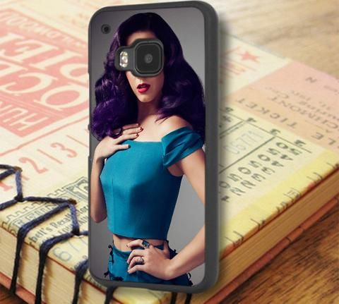 Katty Perry Purple Hair HTC One M9 Case