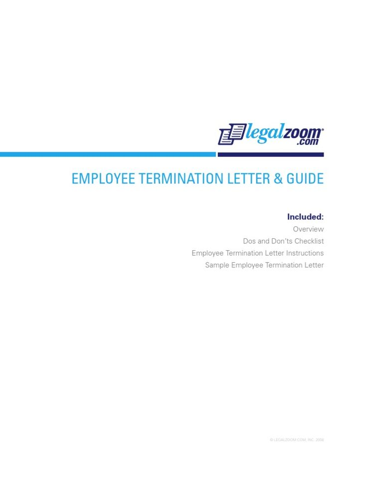 download insurance termination letter docshare employee Home - employee termination guide